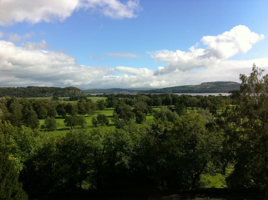 The view towards Arnside