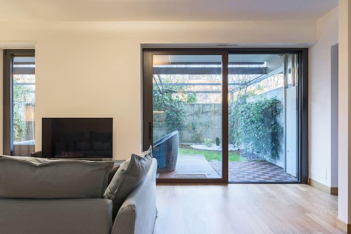 Green apartment in Parco Vittoria