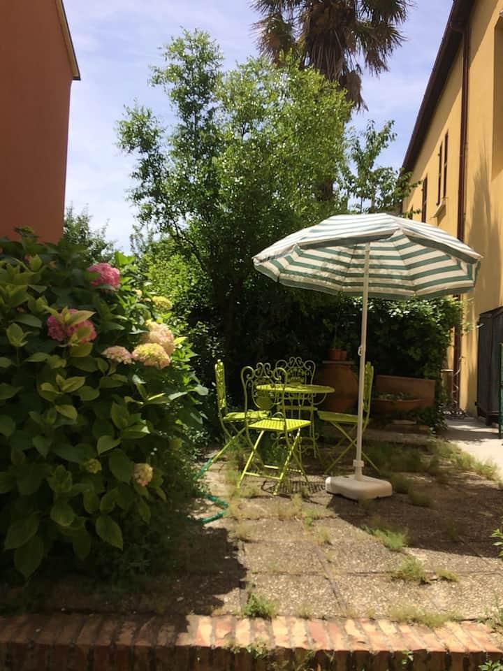 lovely house in italian village