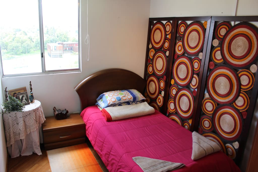 Colorful and authentic colombian rooms