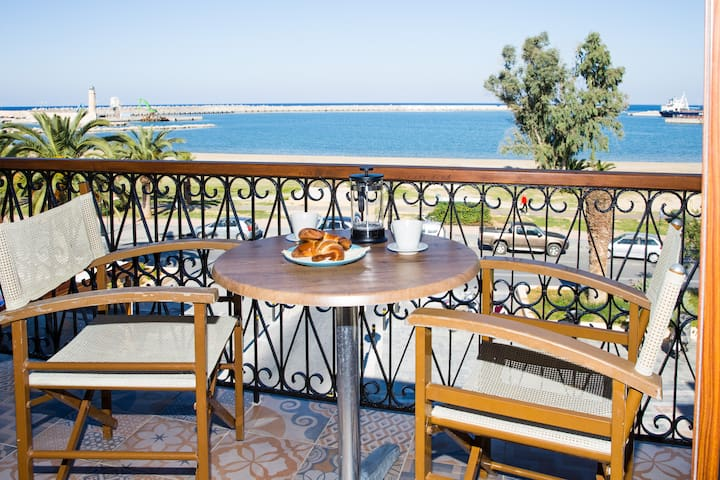 """Prokymaia"" Seaside Penthouse Apartment"