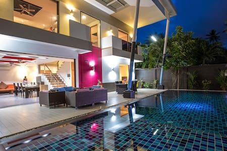 Refurbished Chic Pool Villa, 3 Bedrooms, Chalong
