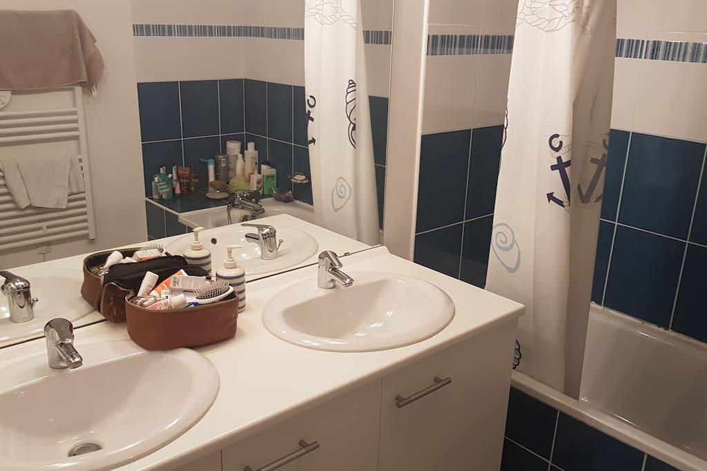 Salle de bain - Double vasques