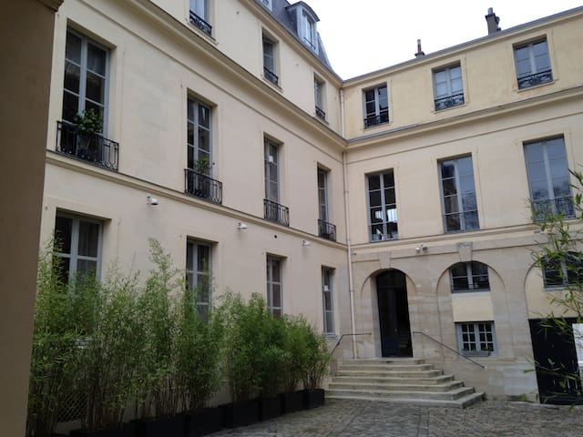 Cour privée Private yard