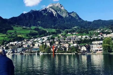Rosita Swiss Chalet Hergiswil Apartment für 1 PAX