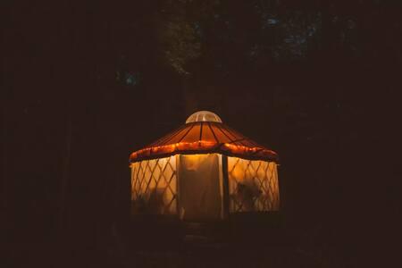 Lakeside Off-Grid Rustic Yurt