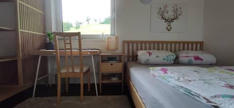 Тиха кімната у спільному помешканні з панорамою Карвенделя
