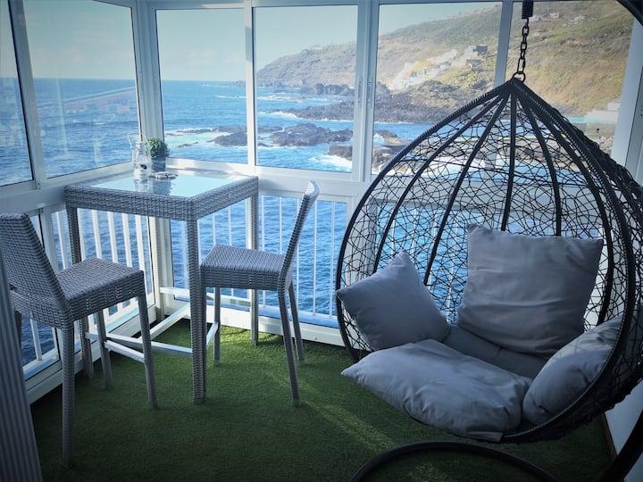 Studio facing the sea, Tenerife
