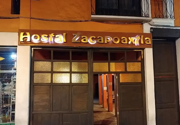 Hostal centro Zacapoaxtla
