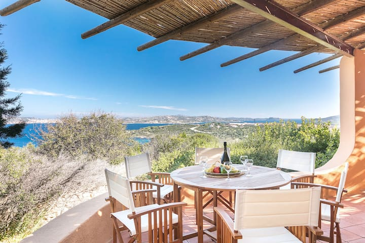 Mediterranean Villa with Amazing Seaview - Villa La Chessa