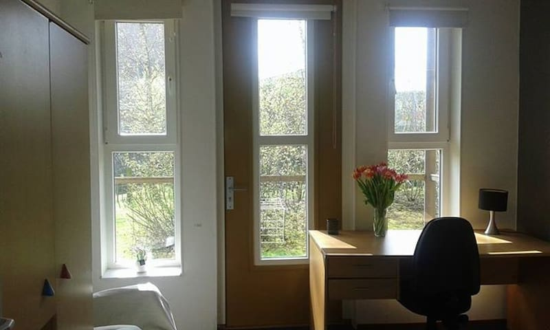 Beautiful room close to the center and WUR - Wageningen - Byt