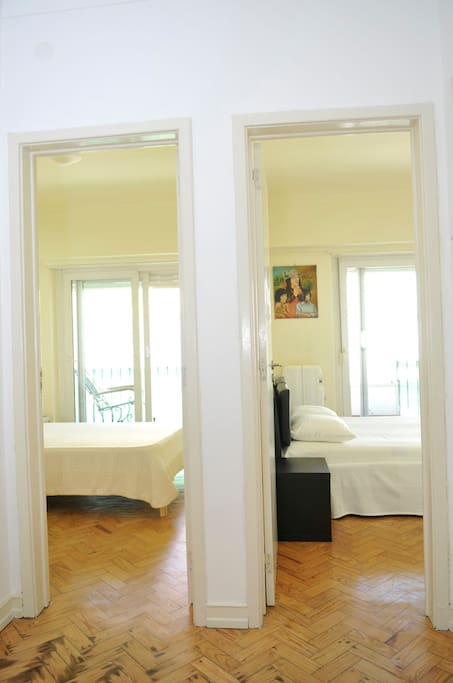 Two-bedroom view