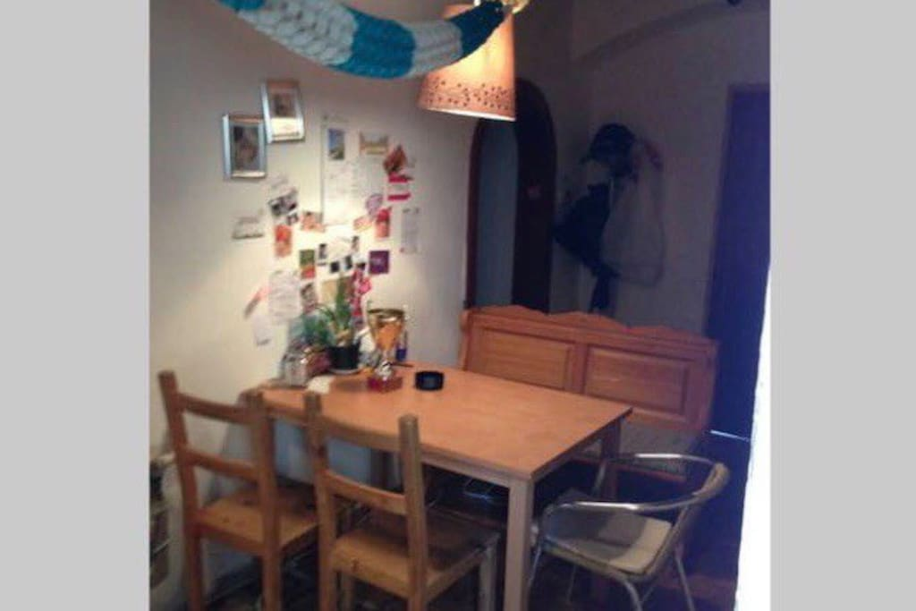 Common space/dining table