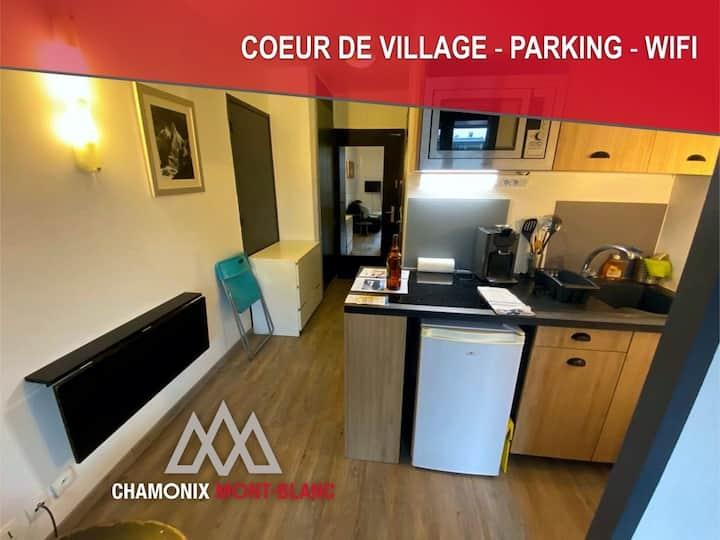 ⭐️ Studio Cœur ❤️ de Village Chamonix Mont Blanc⭐️