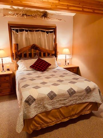 Queen bed. Bedroom #2