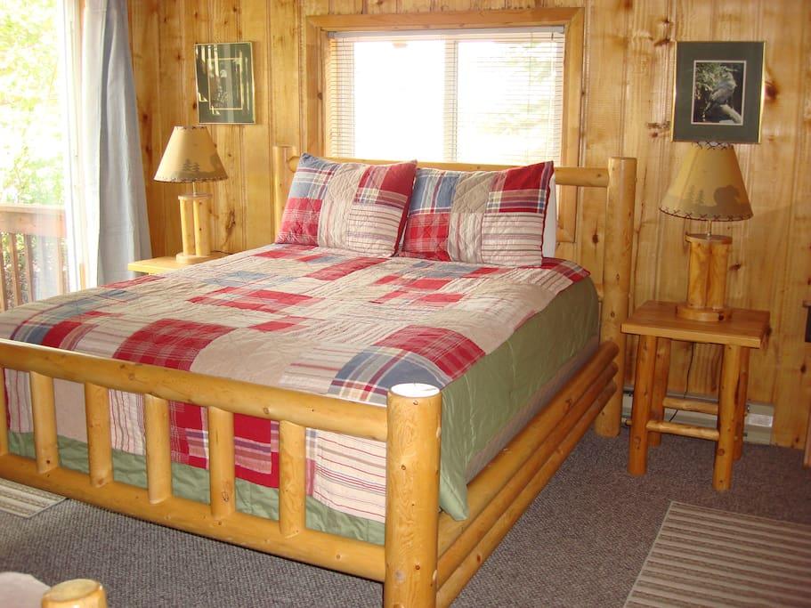 Queen Bed in Timber Trek