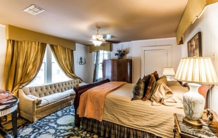 Humphrey Room Private Bath sleeps 7 - Shreveport - Casa de camp
