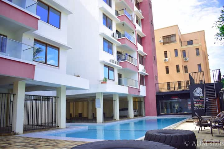 2 bedroom apartment with pool in Nyali
