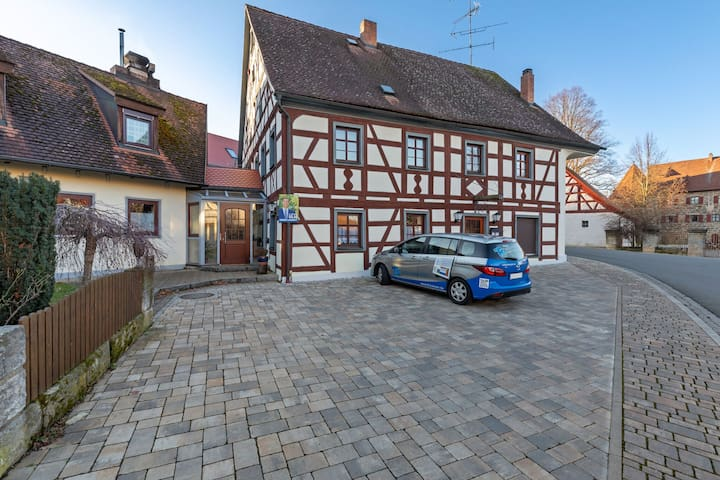 Pleasant Apartment in Kunreuth with Private Terrace