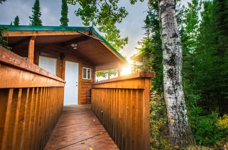 Gratitude Cabin near fishing on Kenai River