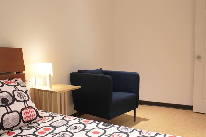 Keelung Stay: D  位於基隆市中心的獨立單/雙人套房