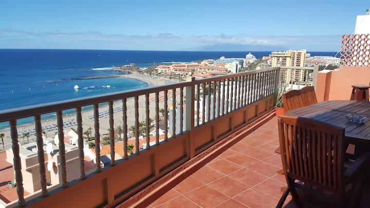 Suite Atico con vistas al mar y costa
