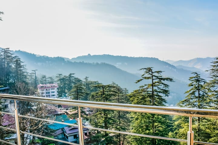 Himalayan View 2 BHK With Kitchenette| Balcony