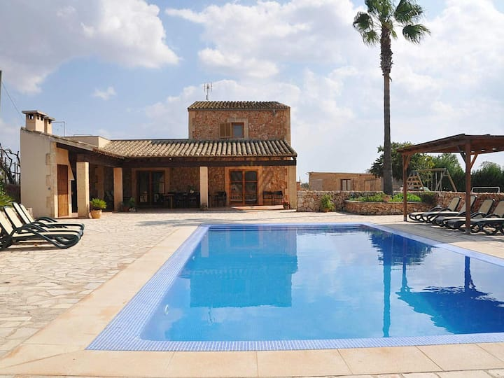 Ses Sitjoles, Holiday Country House in Campos, Mallorca