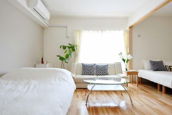 大阪 心斋桥难波 黑门市场 - Chūō-ku, Ōsaka-shi - Apartment