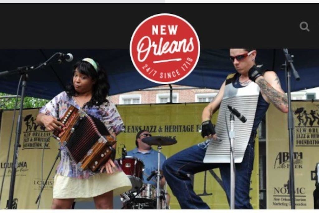French Quarter Fest April 11-14, 2019