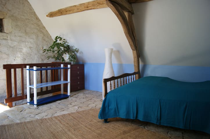 Les Hautes Bersaudières : Gîte pour 6 personnes - Panzoult - Hus