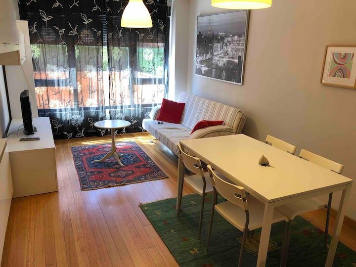 Apartamento con terraza en planta baja