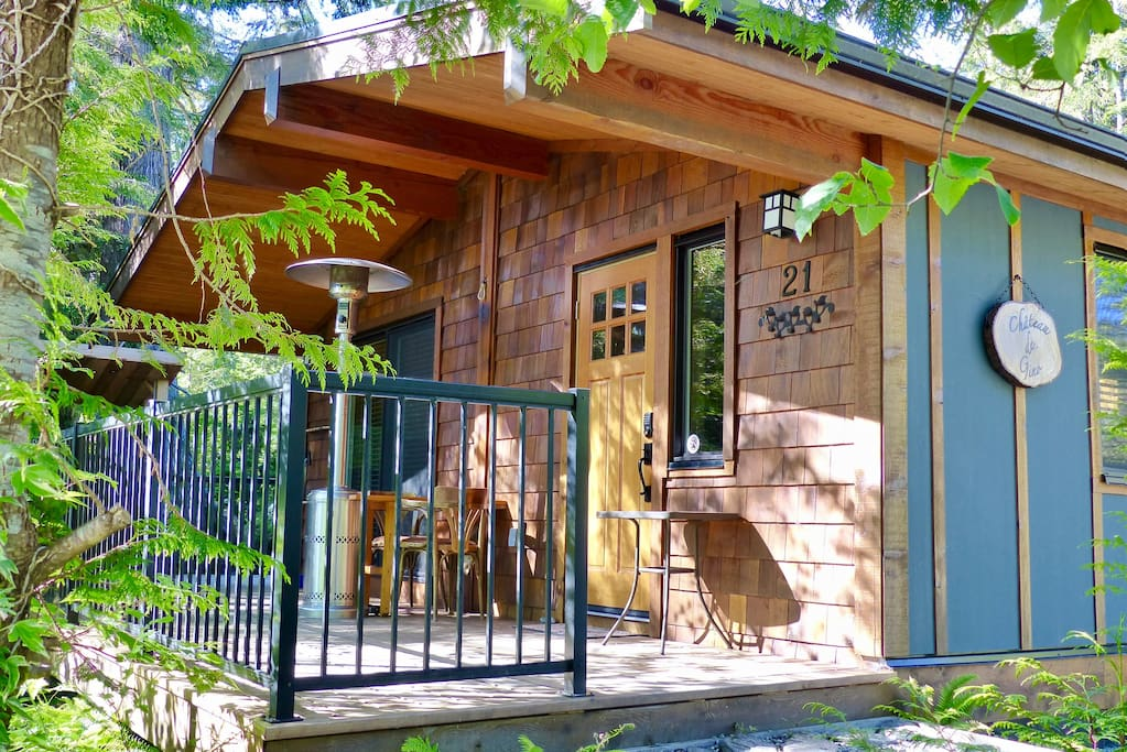 Your own private cottage with outdoor propane heater