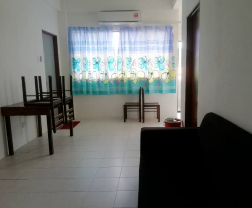 Living Room with aircond