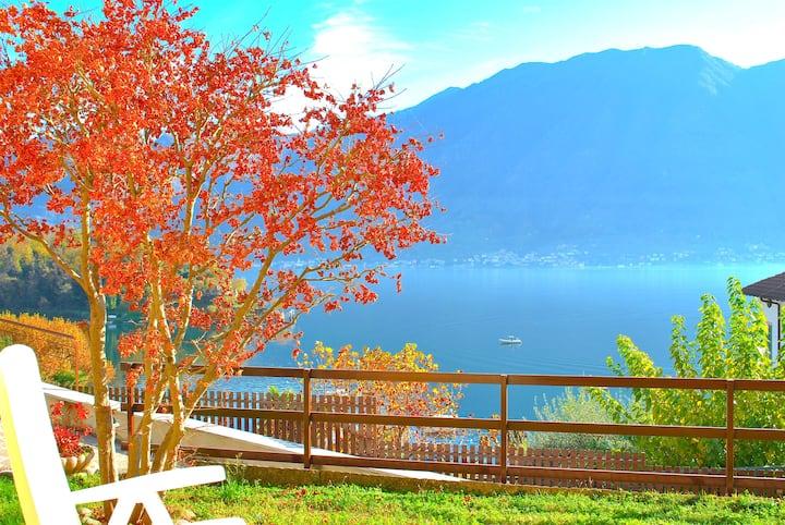 House Gloria - Amazing view on Como Lake