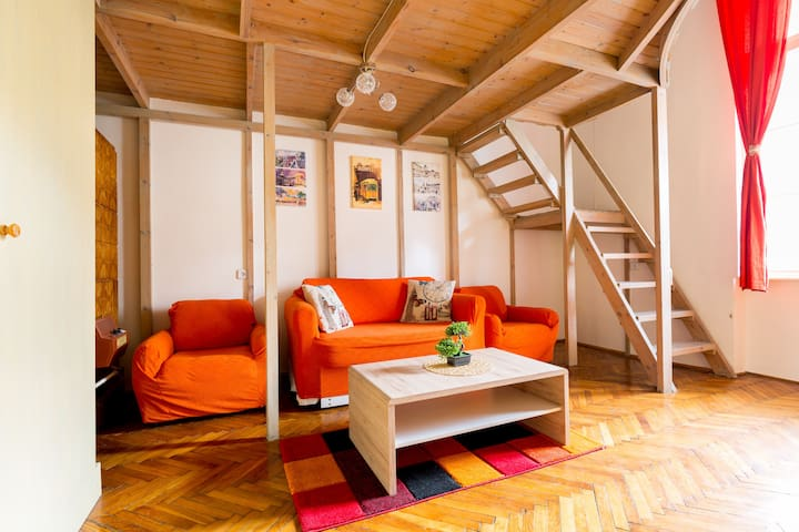 In heart of the city, free WIFI - Budapest - Apartmen
