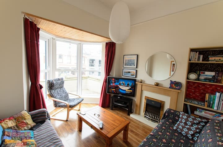 Apartment in Kilkee, Central with Sea view.