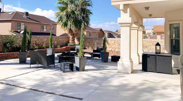 Beautiful house, fully renovated, very nice patio