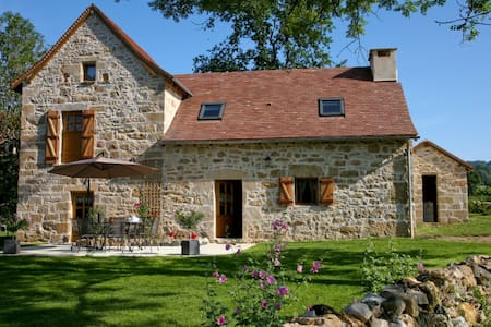 charming gîte, authentic, comfort, quiet, Quercy - Frontenac