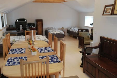 Fantastic guesthouse 70m2 with kitchen, bath etc.