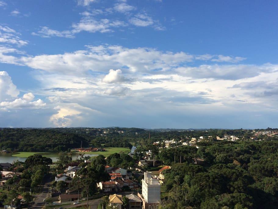 Vista da sacada / Balcony view