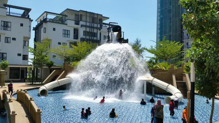 Swiss Garden Homestay with Water Park