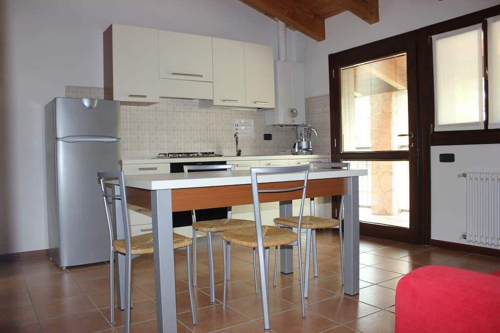 Appartamento Tulipano - angolo cottura