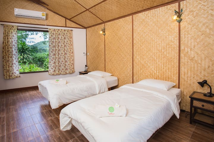 WaterBed Rm@Museflower Retreat&Spa - Wiang Chai