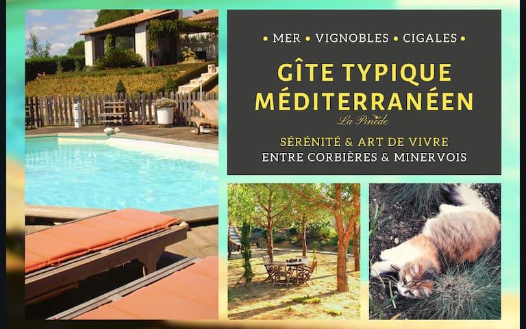 La Pinède • Charming Mediterranean Guesthouse