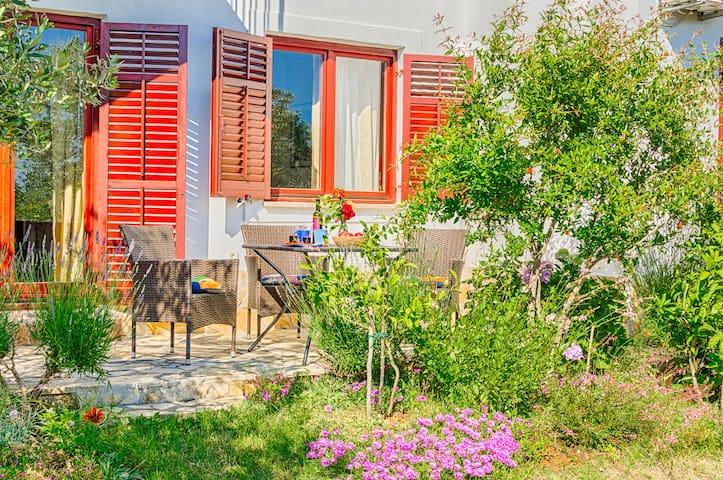 Apartment Amalia / Lavanda - view to the garden-