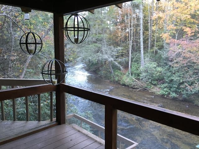 H + H Toccoa River Cabin - Suches - Cottage