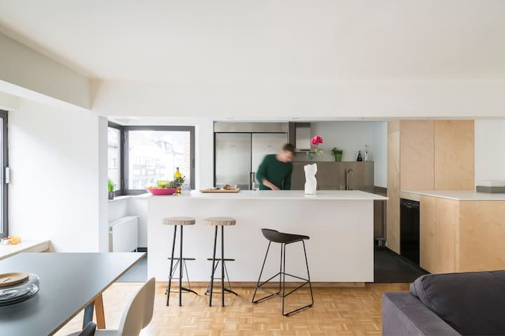 Design apartment in centre Aalst - Aalst - Apartemen