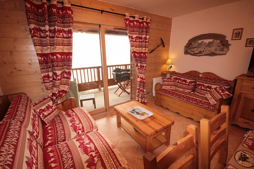 Salon avec terrasse de 11 m²