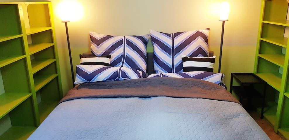 Ok! Zielona Wydma, pokój z wyjątkowymi łóżkami